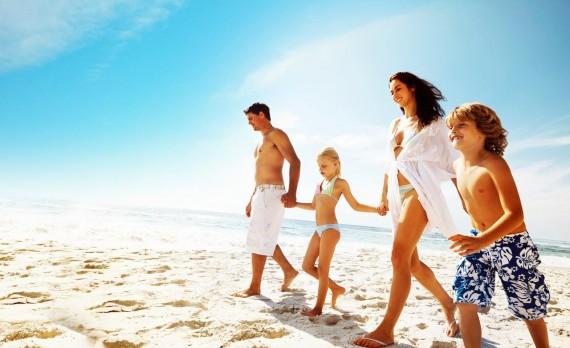 Praia em Família